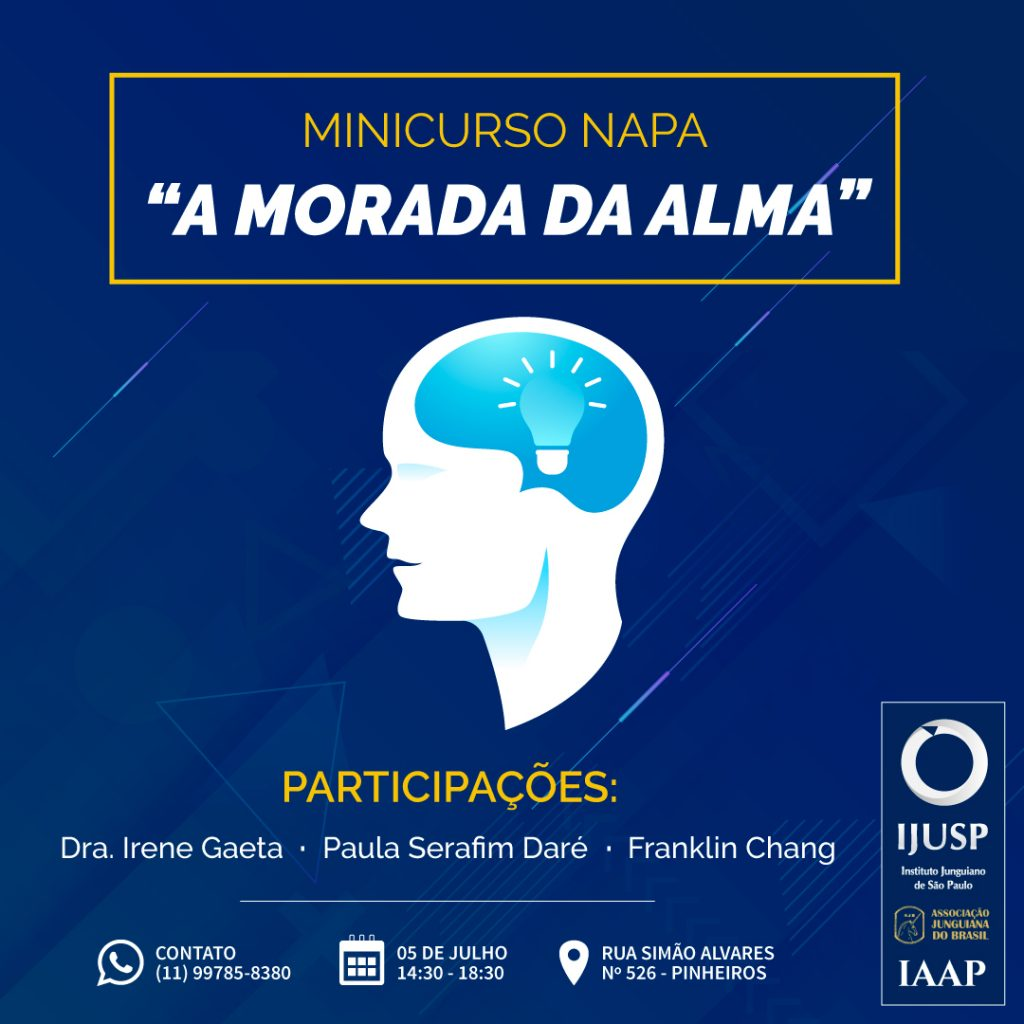 Minicurso NAPA – Núcleo de Arte e Psicologia Analítica II Jornada de Arte e Psicologia